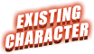 existing character
